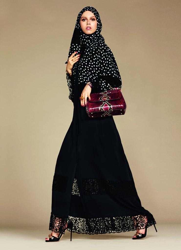 Dolce & Gabbana's Hijab and Abaya Collection