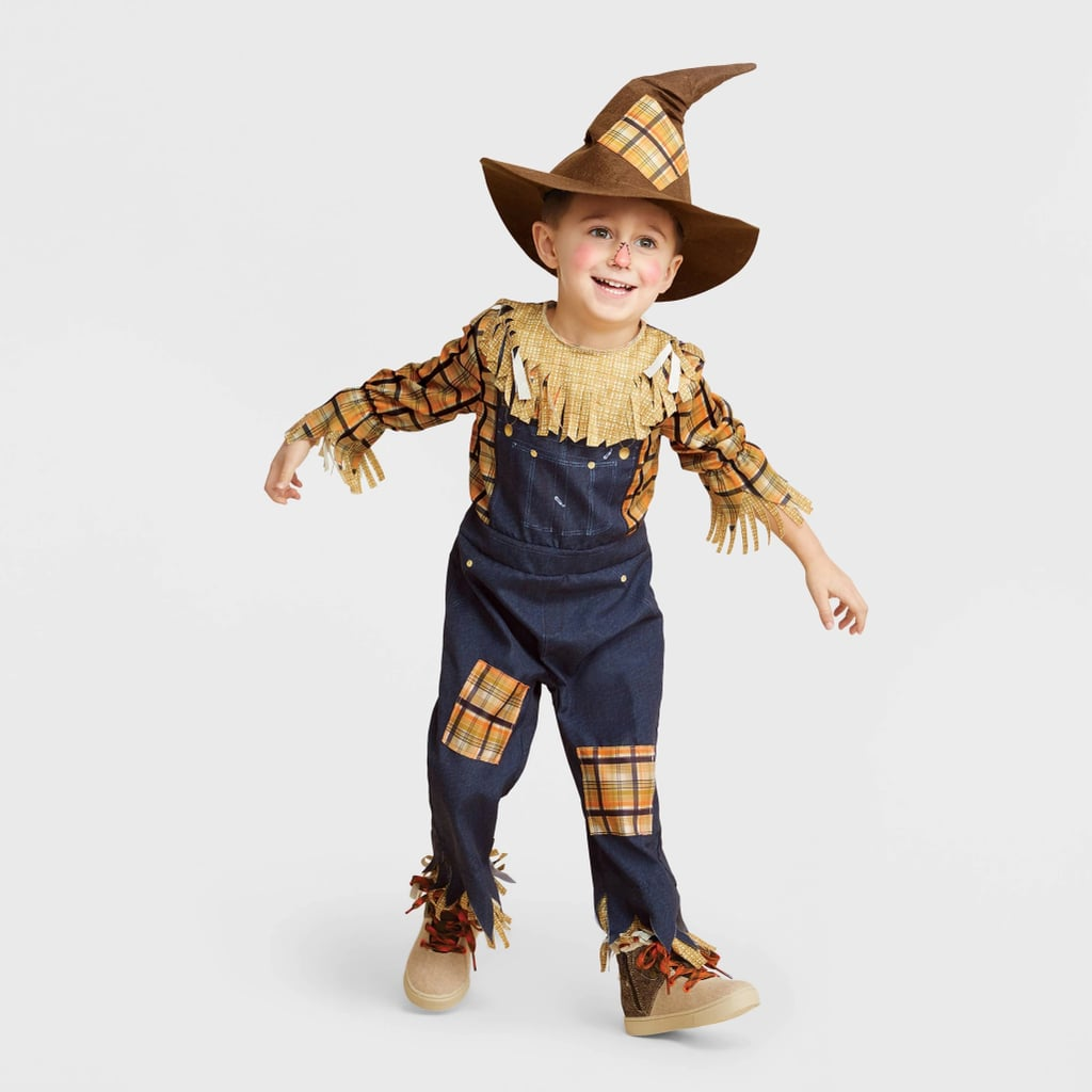 Toddler Scary Scarecrow Halloween Costume