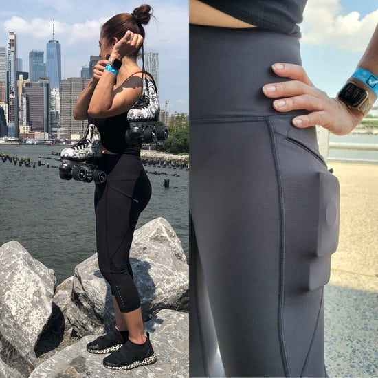 Old Navy High-Waisted PowerSoft Run Crop Leggings Review