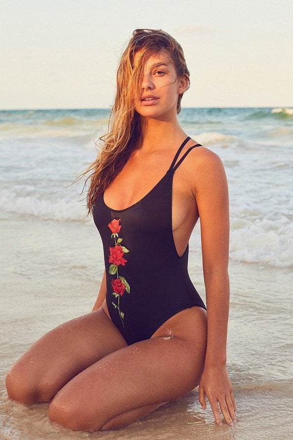 Out From Under Scoop-Back Swimsuit