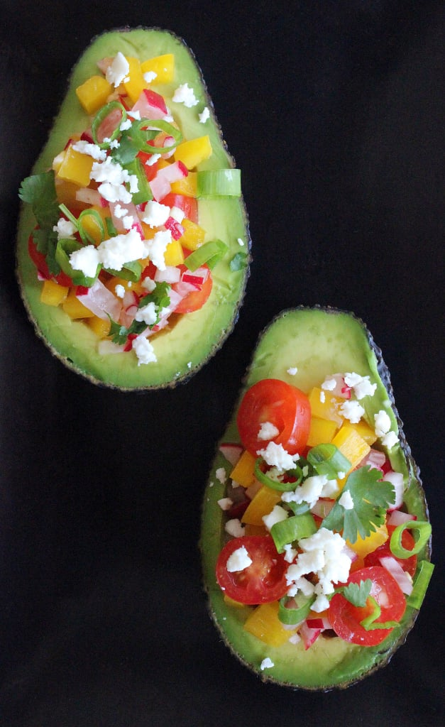 Summer-Salad-Stuffed Avocado