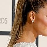 Chrissy Teigen's Dress at the Grammys 2016
