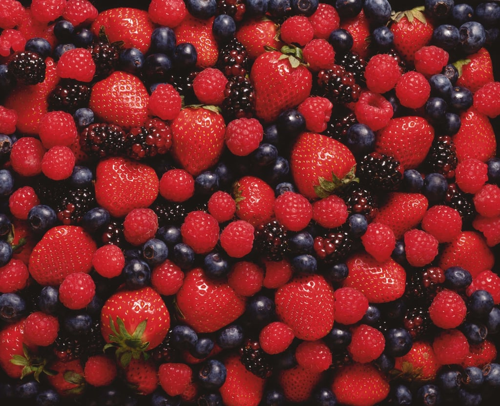 For the Freezer: Mixed Berries