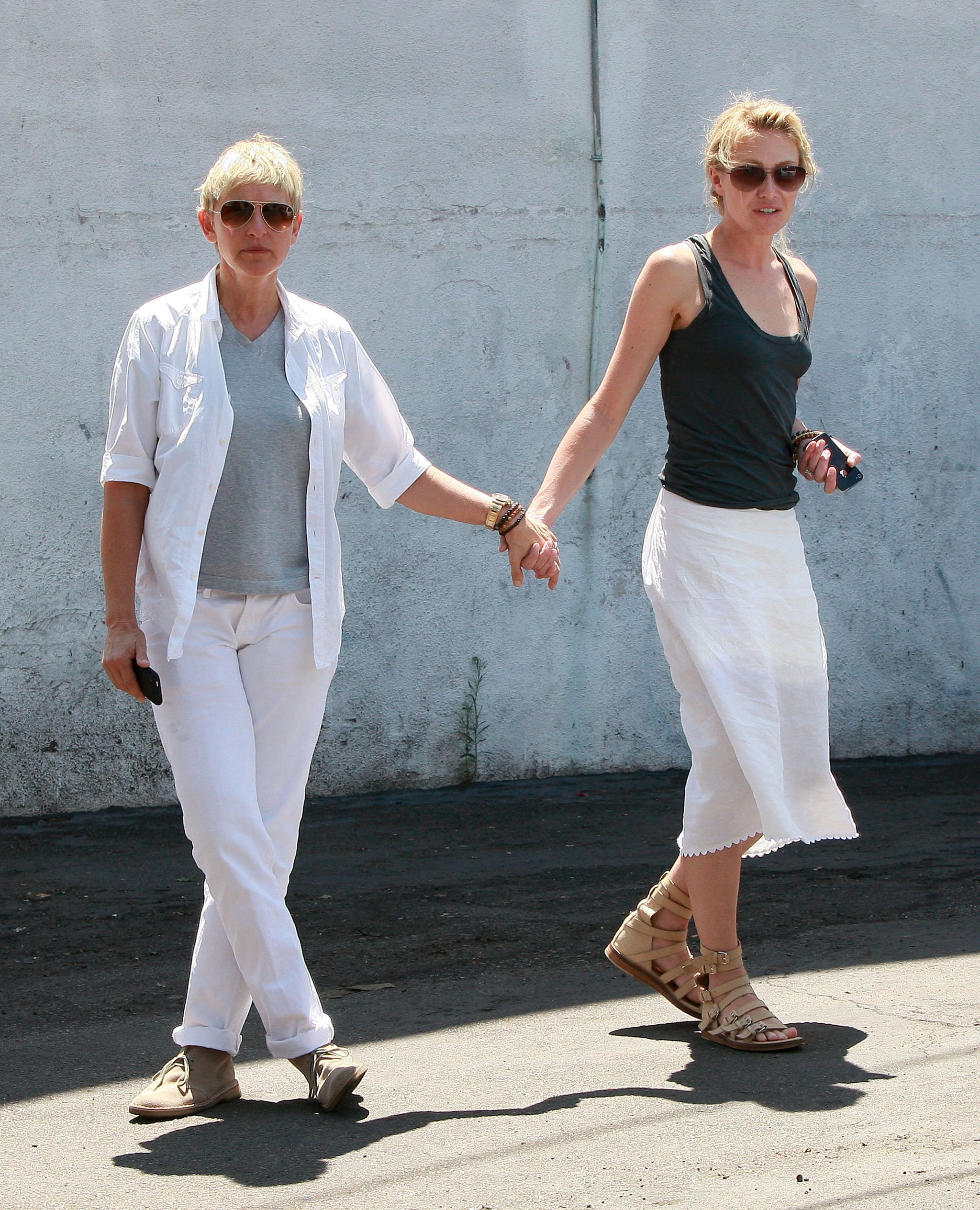 Portia De Rossi Young: Pictures Of Ellen DeGeneres And Portia De Rossi In LA