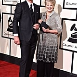 Robin Thicke and his mother, Gloria Loring, made the cutest duo at the Grammys.