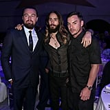Jared Leto and his brother, Shannon, hung out with Leo.