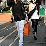 Lindsay Shops with Ali on Saturday