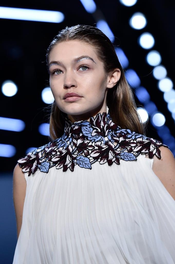 Gigi Hadid at Giambattista Valli Paris Fashion Week Fall 2016