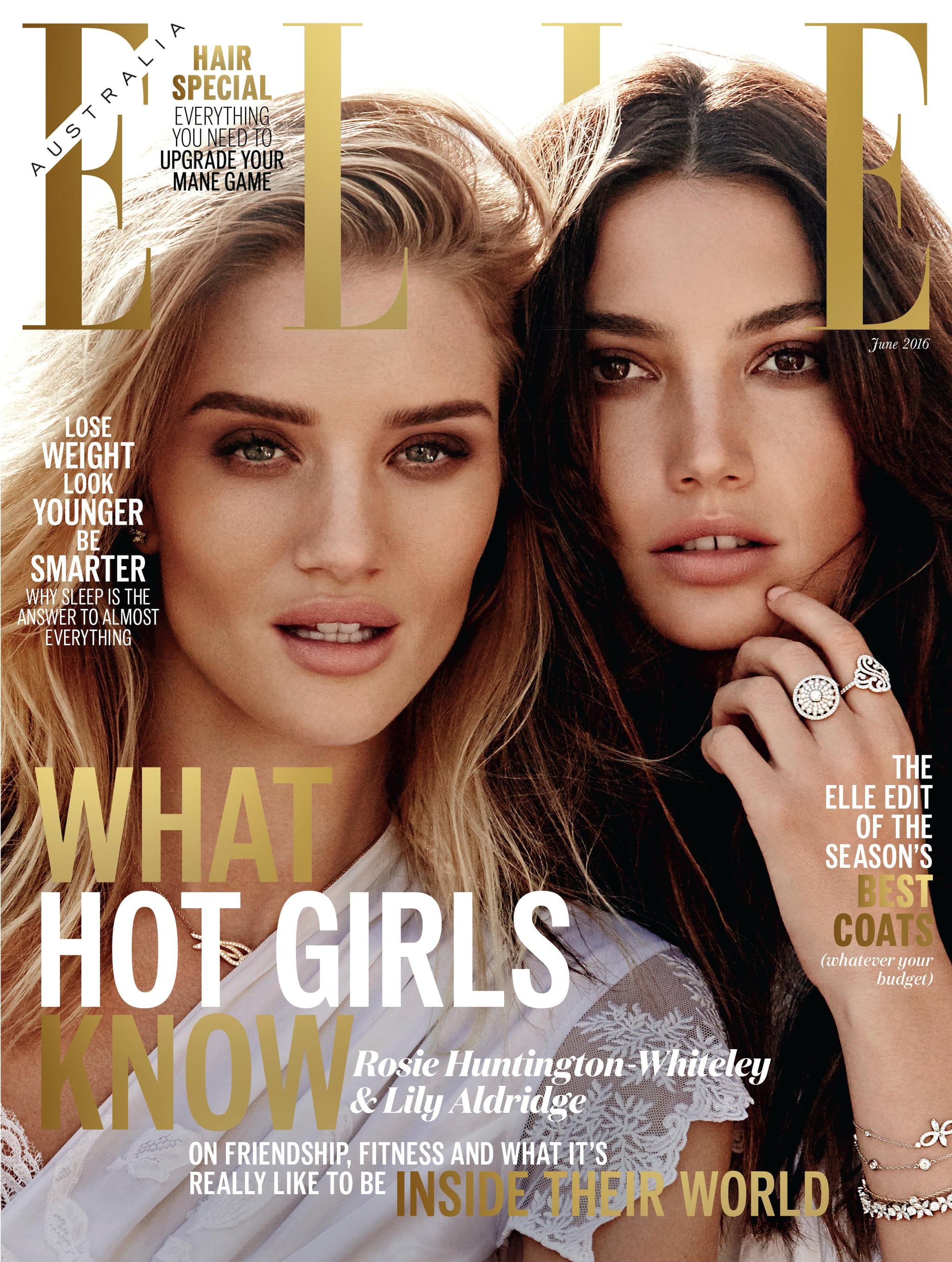 rosie huntington whiteley and lily
