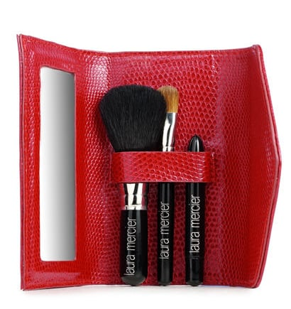 Simply Fab: Laura Mercier Red Micro Mini Brush Set