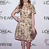 Anna Kendrick at Vanity Fair's DJ Night