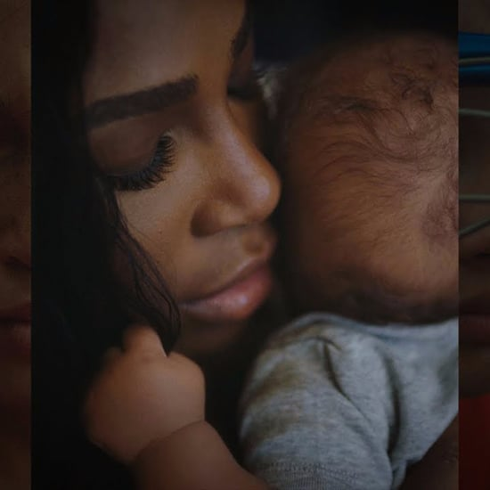 Serena Williams and Daughter in Gatorade Ad