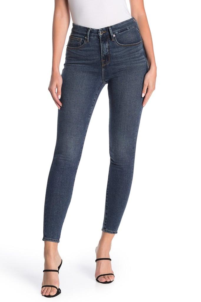 Good American Good Legs Cropped Skinny Jeans