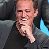 Matthew Perry plays Ryan King, a recently widowed sports talk radio host in Go On.
