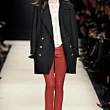In the midst of the Western-inspired Fall 2012 collection, we spied this perfect coat. If Isabel Marant brings it to H&M, we'll have just the outerwear to replicate Emmanuelle Alt's chic-without-trying Parisian style.