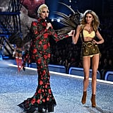 Pictured: Lady Gaga and Stella Maxwell