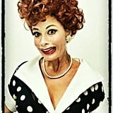 Sofia Vergara dressed up as Lucille Ball — maybe it's for the Halloween episode of Modern Family? Source: Sofia Vergara on WhoSay