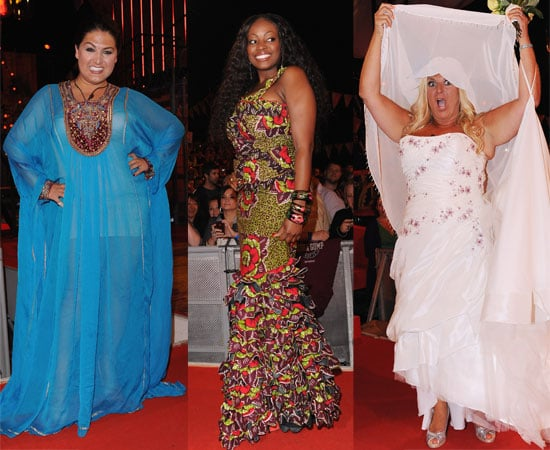 Pictures of Ultimate Big Brother Eviction Nadia Almada Makosi Musambasi Vanessa Feltz As a Bride