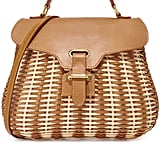 This Serpui Marie Kesha bag ($318) is equal parts sophisticated and adorable.
