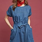 Mo:Vint Faded Denim Dress