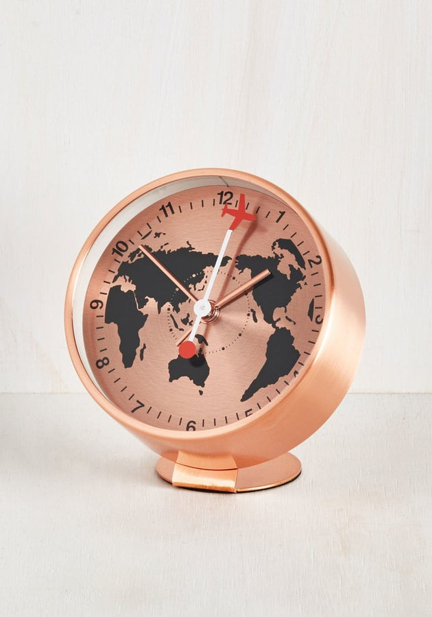 Have Time, Will Travel Alarm Clock ($40)