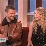 Taylor Swift and Justin Timberlake