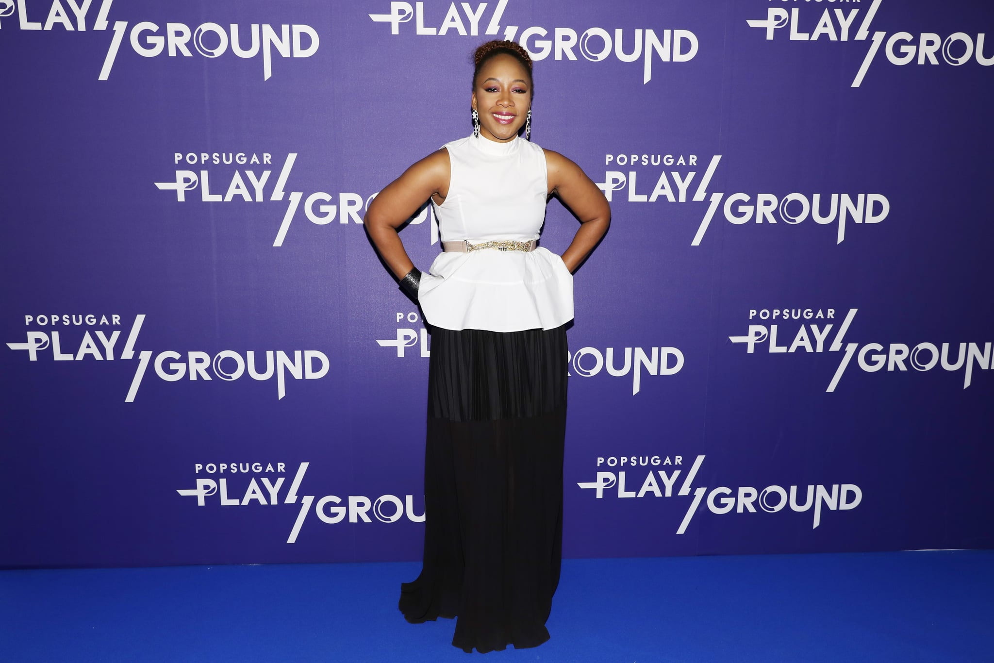 NEW YORK, NY - JUNE 09:  Senior Vice President Covergirl, Ukonwa Ojo attends day 1 of POPSUGAR Play/Ground on June 9, 2018 in New York City.  (Photo by Cindy Ord/Getty Images  for POPSUGAR Play/Ground)