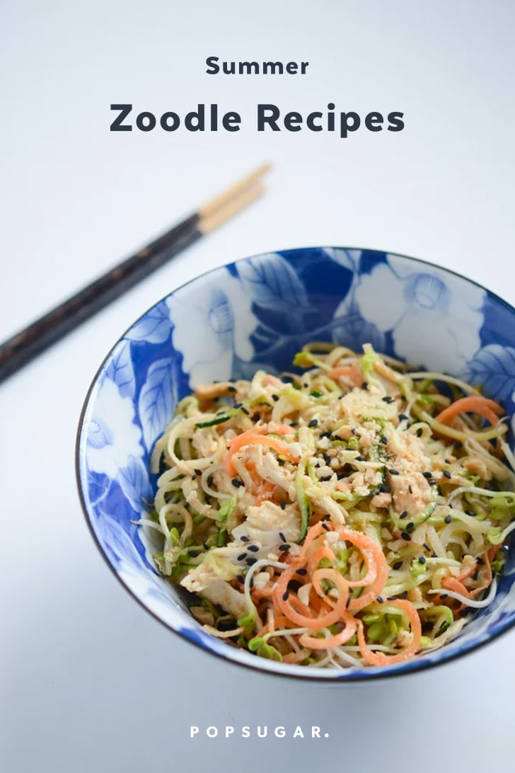 Zoodle Recipes For Summer