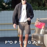 Zac Efron stepped out for the first time since his broken jaw.  Source: 4CRNS/Gallo/FameFlynet