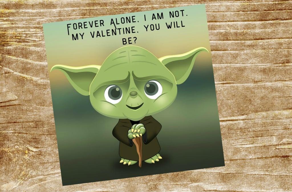 Großartig Yoda Best Valentines   Star Wars Kidsu0027 Valentineu0027s Day Cards   POPSUGAR  Moms Photo 1