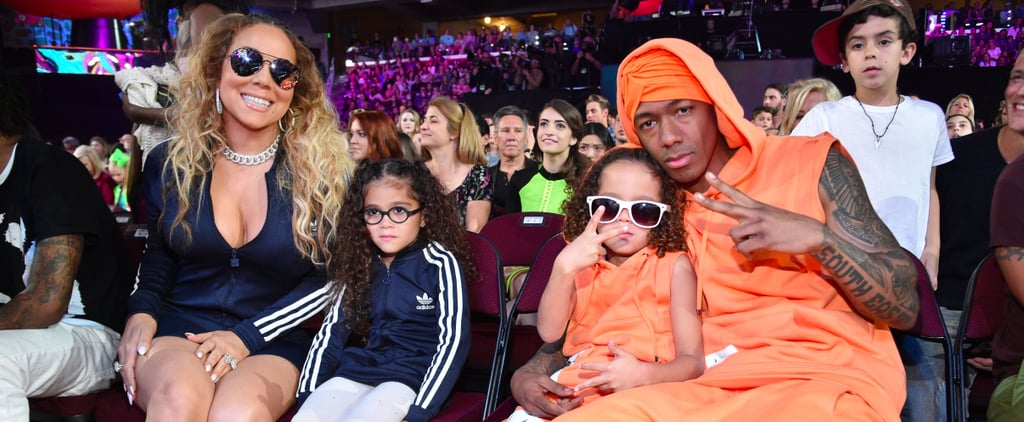 Mariah Carey and Nick Cannon Family 2017 Kids' Choice Awards