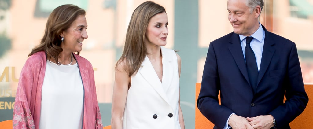 Allow This Royal to Demonstrate How to Wear a Vest as a Top — Yep!