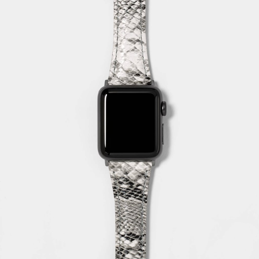Heyday Apple Watch Snake Skin Woven Band