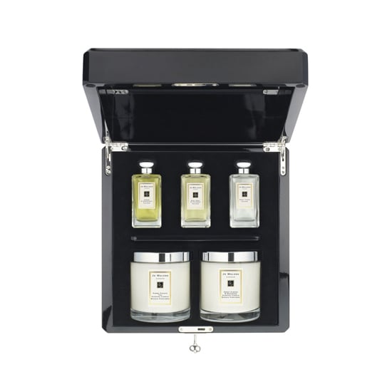 For the woman who loves fragrance, there is nothing more luxurious than the Jo Malone London Tea Trousseau ($695). It not only includes two oversize candles, but you'll also get three colognes packaged in a lovely lacquer box (with key).