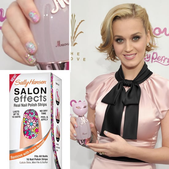 Katy Perry's Flower Manicure