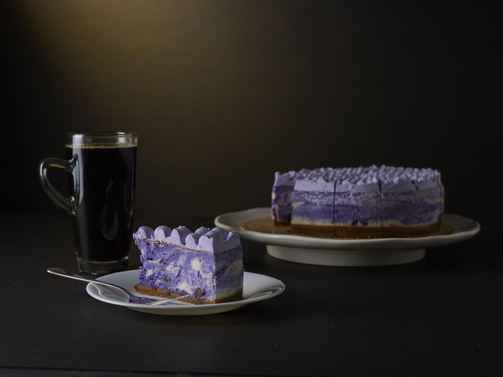 Purple Yam Cheesecake (Philippines)