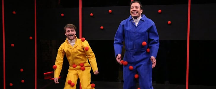 Daniel Radcliffe Plays Sticky Balls With Jimmy Fallon