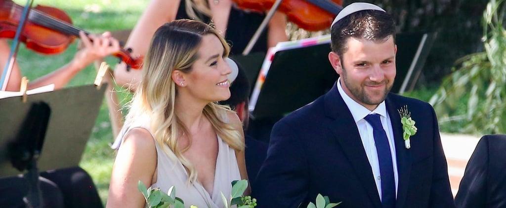 Lauren Conrad and Lo Bosworth Have a Mini Hills Reunion at Friend's Wedding