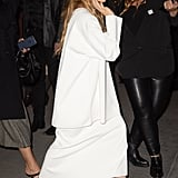 Mary-Kate and Ashley Olsen Shoes at WSJ Awards November 2018
