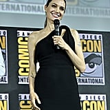 Pictured: Angelina Jolie at San Diego Comic-Con.