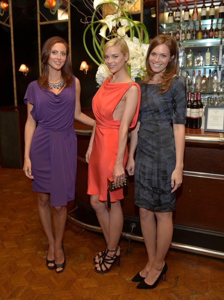 Mandy Moore, Eva Amurri, and Jaime King struck a pose.