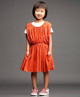 Gathered Dress ($135)
