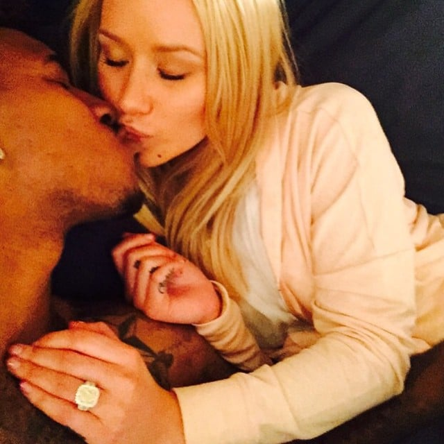 Iggy Azalea Is Engaged! Watch Nick Young Pop the Question During His 30th Birthday Party