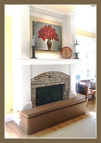 Jamboo Creations Hearthsoft Fireplace Bumper Stylish Babyproofing Solutions Popsugar Moms