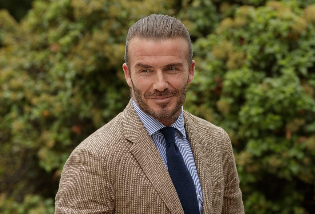 David Beckham Wearing Makeup on the Love Magazine Cover 2019