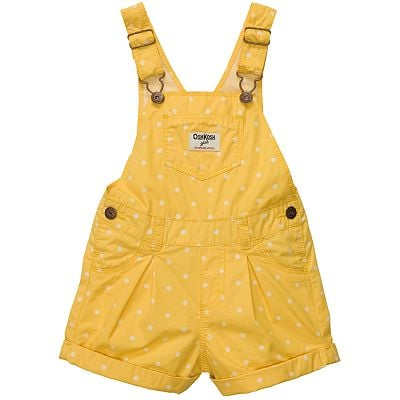 OshKosh B'Gosh Polka-Dot Poplin Shortalls
