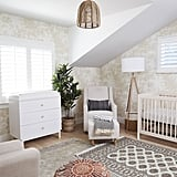 """There were five things that were huge priorities to me,"" Whitney said. ""A crib, a dresser that acted as a changing table, a soft rug, a glider, and a day bed."" For other nonpriority accents, like the adorable $100 lighting pendant or $88 floor lamp, she went the affordable route."