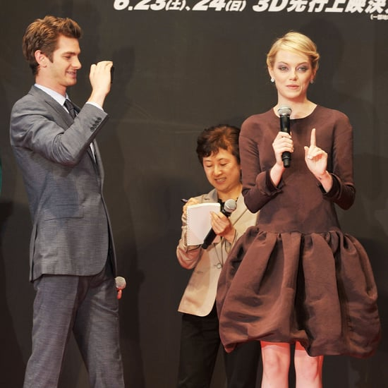 See Emma Stone And Andrew Garfield At The Tokyo Premiere Of The Amazing Spider-Man