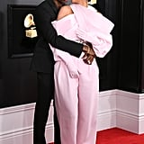 Kylie Jenner and Travis Scott at the Grammys