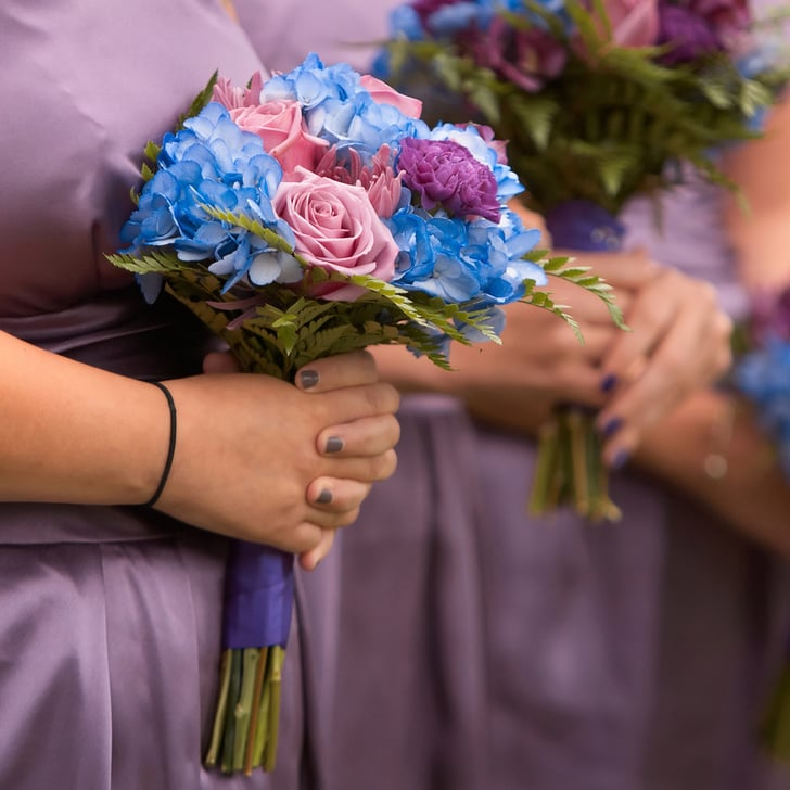 10 Colorful Polish and Dress Pairings For Bridesmaids